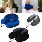 Travel Neck Pillow Memory Foam Cushion Soft U Shape Support
