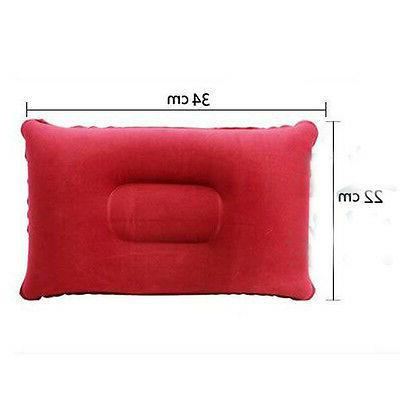 Travel Inflatable Pillow Cushion Head Neck
