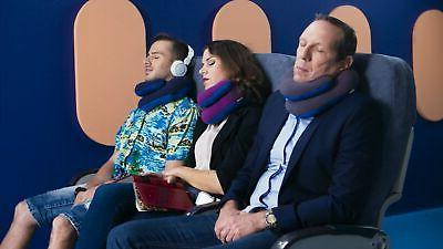 BCOZZY Travel Pillow, Patented Neck & Chin