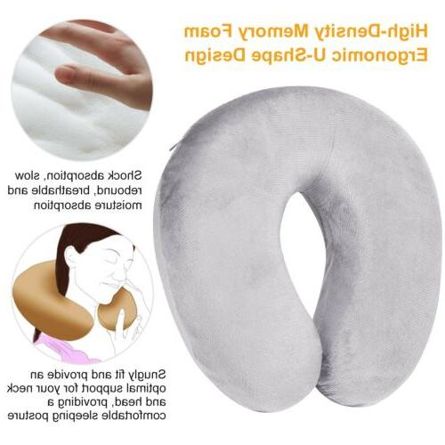 U-Shaped Travel Pillow Support Head Rest