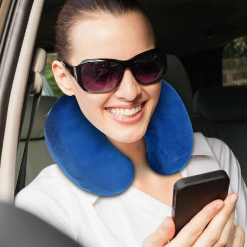 U-Shaped Travel Pillow Neck Support Head Rest