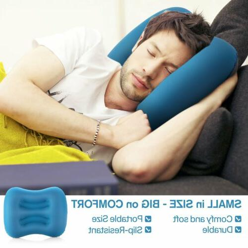 Ultralight Neck Concave Air Pillow Inflatable Portable Outdo