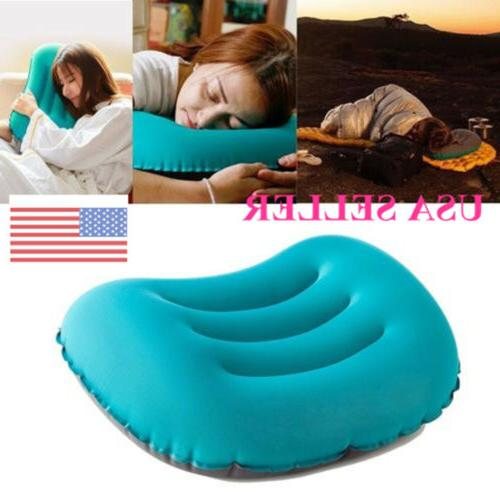 ultralight tpu neck concave air pillow inflatable