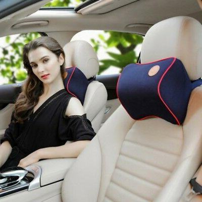Soft Car Seat Pad Head Neck Rest Support Cushion