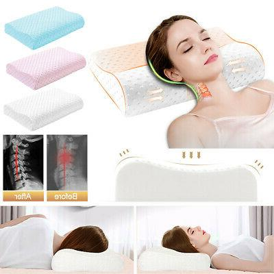 Contour Memory Pillow Head Back Orthopedic Soft Foam Comfort