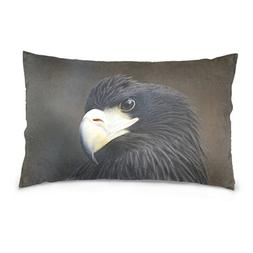 La Random Black Eagle Rectangular Bed Throw Pillowcase Cushi