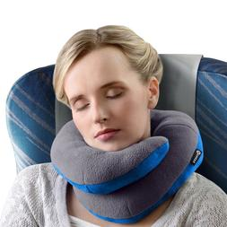 Large Travel Comfort Pillow Head Support Wrap Around Neck Ho
