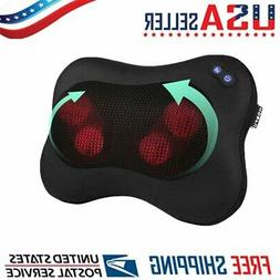 Massager Heat Massage Pillow Shiatsu Deep Kneading Relax Nec