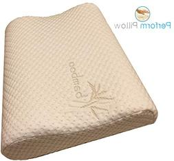 Thin Profile Memory Foam Neck Pillow - Double Contour - Chir