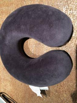 Travelmate Memory Foam Neck Pillow, GREY NEW NEVER USED FREE