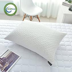 SORMAG Memory Foam Pillow Adjustable Loft Bed Pillows for Sl