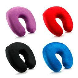 Memory Foam U Shaped Travel Pillow Neck Support Head Rest Ai