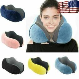 memory u shaped pillow travel neck support