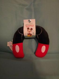 Disney Mickey Mouse Neck Roll Pals with Embroidery, Red/Blac