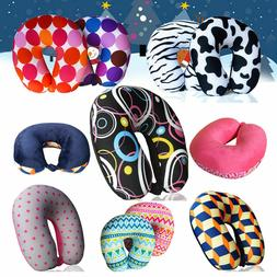 Micro Beads U Shaped Travel Neck Pillow Head Neck Cervical S