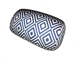 Microbead Bolster Diamond Pattern Roll Pillow