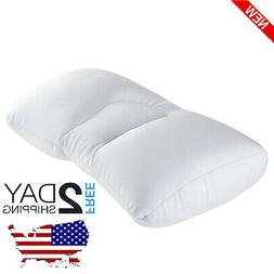 Microbead Pillow Cradle Support Neck Bed Pillows Positioner