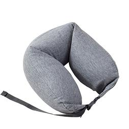 YOURJOY Microbeads Travel Pillow for Airplanes Neck Pillow F