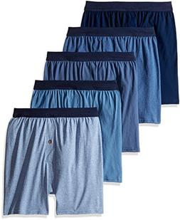 Hanes MKCBX5 Men's TAGLESS ComfortSoft Knit Boxers /ComfortS