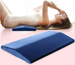 MQTH Lumbar Memory Foam Bed Pillow / Waist Cushion / Pregnan