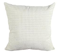 Multi-size Candy Color Corduroy Throw Pillow Cover Sham Case