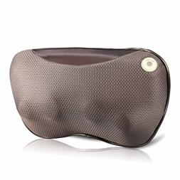 ROTAI Neck Massager Shiatsu Electric Massage Pillow with Hea