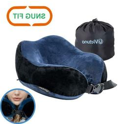 Victuna Neck Pillow for Airplane Travel, Upgrade Memory Foam