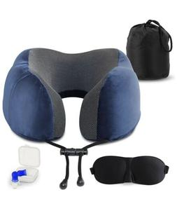 Neck Pillow Bundle with Best Chin Support for Home, Airplane
