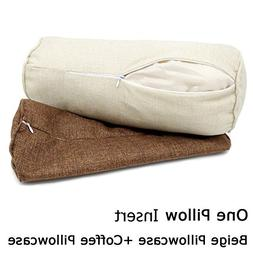 16x6 Inch Car Round Cervical Neck Pillow Semi-Roll Pillow Wa