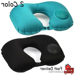 neck support pillow inflatable car travel u