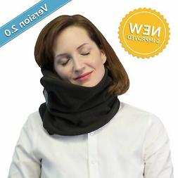 Neck Support Travel Pillow - Temperature Control Breathable
