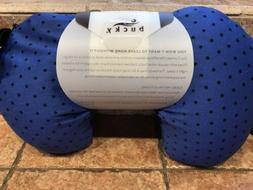 New Bucky Compact Neck Pillow with Snap & Go w/ Stylish Remo