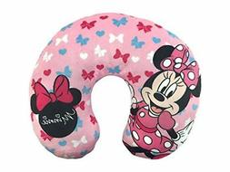 NEW Jay Franco Minnie Mouse Bows Travel Neck Pillow FREE2DAY
