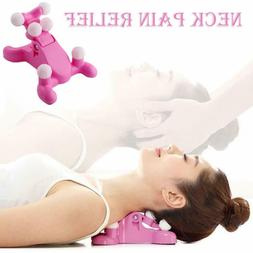 Cervical Pillow Neck and Head Pain Relief Back Massage Suppo