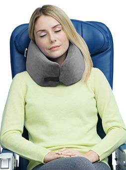 NEW Travelrest - Ultimate Memory Foam Travel Pillow - Therap
