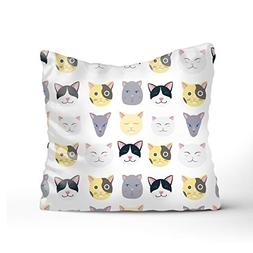 Realize Stylish Nice Cats Sofa Bed Home Decor Pillow Case Cu