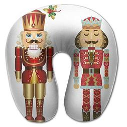 Nutcracker Lightweight Neck Pillow Removable Cover Memory Fo