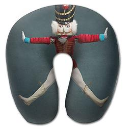 Nutcracker Adult Size Neck Pillow Spa Memory Foam U-SHAPE Fo
