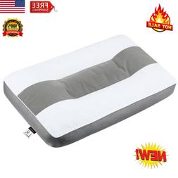 Orthopedic Cervical Sleep Pillow Head Neck Support Bed Cushi