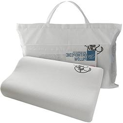 Save&Soft Toddler Memory Foam Pillow - Cervical Support Pill