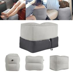 Pad Kids Bed Inflatable Footrest Leg Foot Rest Travel Pillow