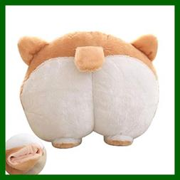Pets Puppy Cute Corgi Butt Throw Pillow Neck Support Cushion
