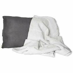 Pillow And Blanket Set Neck For Airplane Travel, Car, Campin