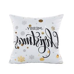 "18""x18"" Pillow Case, Mchoice Gold Foil Printing Pillow Case"