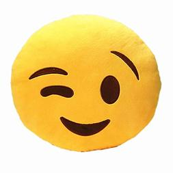 Pillow Doll Toy, Mchoice Car Home Office Accessory Emoji Smi