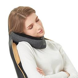 Travel Pillow Neck Support Voyage Pillow- 2 in 1 Travel Pill