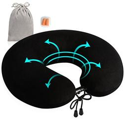 Travel Pillow, Feagar Compact & Portable, Cover Washable Sof