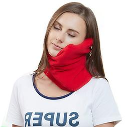 Travel Pillow Scientifically Proven Super Soft Neck Support
