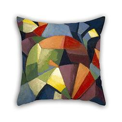 beeyoo Pillow Shams of Oil Painting Morgan Russell - Synchro