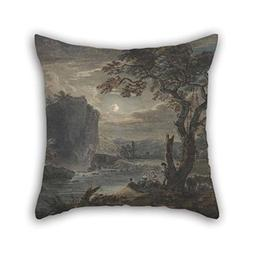 beeyoo Pillow Shams of Oil Painting Paul Sandby - Music by M